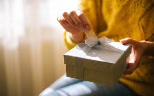 Abrir regalo lazo