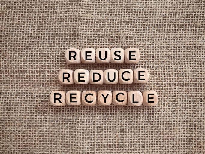 Reutilizar, reducir y reciclar