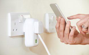 Medición consumo energético desde móvil
