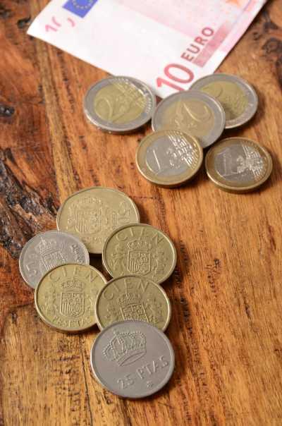 ¿Qué monedas de pesetas se pueden cambiar?
